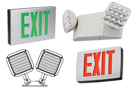 Emergency Lighting, Exit Signs