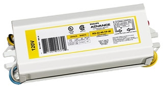 ADVANCE RS2232TPWI : ELECTROMAGNETIC BALLAST 1 LAMP FC8T9 & 1 LAMP FC12T9 120V