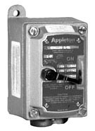 APPLETON EDS21MC2 EDS MANUAL MOTOR CONTACTOR
