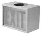 APPLETON AEXR15R SINGLE SIDE EXIT SIGN