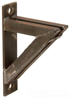 Bline B3067 4 Pln Heavy Duty Angle Bracket 36in Plain Gordon Electric Supply Inc