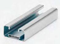 BLINE 4D21-120GLV 4D CHANNEL, 1-IN. X 2-IN., 18 GA., 120-IN. (10 FT), GALVANIZED