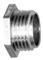 "BRIDGEPORT 1108-DC 2-1/2"" CONDUIT NIPPLE ZINC"