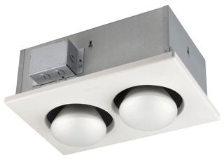 BROAN 163 Double Bulb Heater (NO FAN )