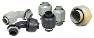 E-FLEX NMLT13 1IN BLACK PVC STR CONN Product Image