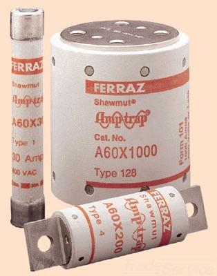 MERSEN-FERRAZ A60X400-4 600V SEMICOND FUSE