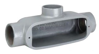 KILLARK OT-2 3/4 ALUM T CONDUIT BODY