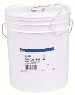 IDEAL 31-338 Valu-Line Pull Line in a Bucket, 190 lb. x 6500FT L.