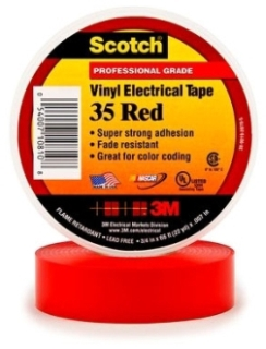 3M 35-RED-3/4X66FT CODING TAPE Product Image