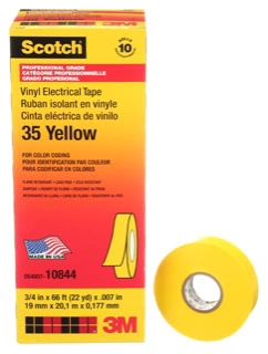 3M 35-YEL-3/4X66FT CODING TAPE Product Image