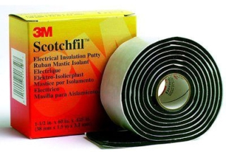 "3-M SCOTCHFIL-PUTTY Electrical Insulation Putty 1-1/2"" x 60"" ****HAZARDOUS MATERIAL**** ****REQUEST DATA SHEET****"