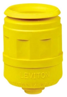 LEVITON 6031-Y : YELLOW PLUG BOOT