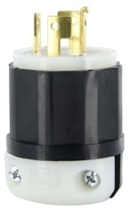 LEVITON 7411-C : LOCKING PLUG-4W20A250/10A600