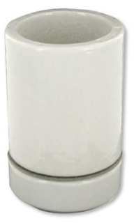LEVITON 8765 : PORCELAIN 2PIECE MOG LAMPHOLDER