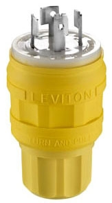 LEVITON 26W09 : 4P4W10A600V LOCKING PLUG