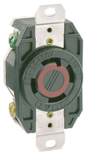 LEVITON 2730 : LOCKING FLUSH RECEPTACLE