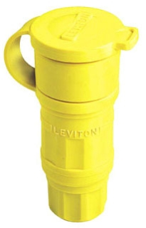 LEVITON 29W75 : NMA L15-30R LOCKING CONNECTOR&CAP