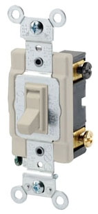 LEVITON 54504-2I : 4 WAY 15A 277V AC SWITCH