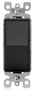 LEVITON 5601-2E SP BLACK 15A SWITCH