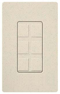 Lutron NT-6PF-BE Six Port Frame W//Blanks Nt* Beige Beige