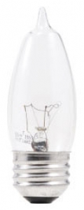 SYLVANIA 13651 40B10/BL/4PK 40W DECO LAMP(p)
