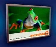 SYLVANIA 71154 LTP/024/036/C/A1 FRAME W/LED LT