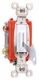 P&S PS20AC2-L 20A 120/277VAC BACK & SIDE WIRE DP KEY LOCK GRAY