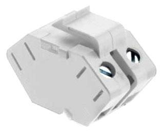 Package Qty 20 On-Q//Legrand Wp3479-Wh N-Rcsd Nkl F-Conn