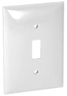 Onderdelen en accessoires Orbit PLTS15-W 15A Single Pole Stack Switch with Pilot Light White Huis
