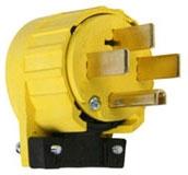 P&S 5745-AN : PLUG 50A125/250V ANGLE