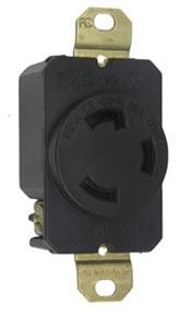 P&S L530-R : TURNLOK RECEPTACLE SINGLE 3WIRE 30A125V