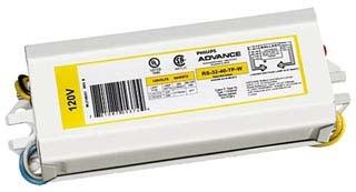 ADVANCE RLQS122TPWI : ELECTROMAGNETIC BALLAST 1 LAMP FC8T9 CIRCLINE 120V