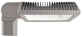 RAB RWLED4T78SFYRG/BL ROADWAY TYPE IV 78W WARM LED SLIPFITTER BILEVEL RD GRAY