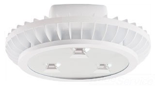 RAB AISLED78YW HIGHBAY AISLE 78W WARM LED 3X26W W/ HOOK & CORD WHITE Product Image