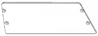 RAB GDSLIM37P POLYSHIELD GUARD SLIM WALLPACK 37W WITH STAINLESS SCREWS WP1
