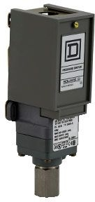 SQUARE D 9012GNG5 : PRESSURE SWITCH 480VAC 10AMP G +OPTIONS