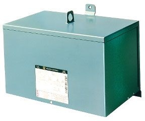 SQUARE D 9T2F : TRANSFORMER DRY 3PH 9KVA 480V-208Y/120V