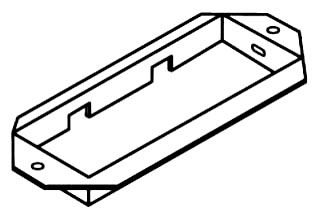 SQUARE D RWT06CC : WALL DUCT, CABINET CONNECTOR