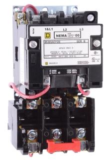 SQUARE D 8536SBO1V02S : STARTER 600VAC 18AMP NEMA +OPTIONS