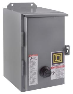 SQUARE D 8536SBA2V03 : STARTER 600VAC 18AMP NEMA +OPTIONS