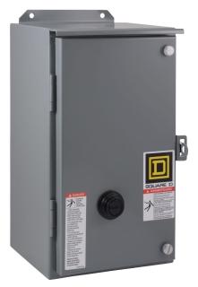 SQUARE D 8536SDA1V03 : STARTER 600VAC 45AMP NEMA +OPTIONS