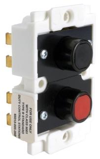 SQUARE D 9001BOC214 : CONTROL STATION CONTACT BLOCK 600VAC 5A