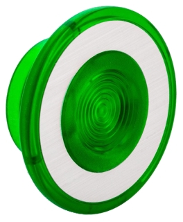 SQUARE D 9001G22 : 30MM MUSHROOM FOR ILLUMINATED PUSHBUTTON GREEN 41MM