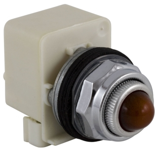 SQUARE D 9001KP7R6 : PILOT LIGHT 240VAC 30MM TYPE K +OPTIONS