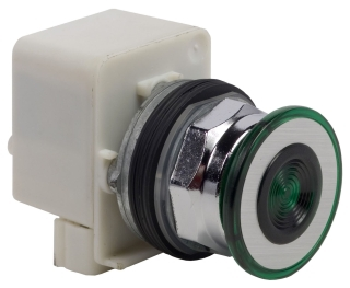SQUARE D 9001KR9P1G : PUSHBUTTON OPERATOR 30MM TYPE K +OPTIONS