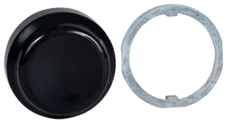 SQUARE D 9001KU1 : 30MM BLACK BOOT FOR NON-ILLUMINATED PUSHBUTTON