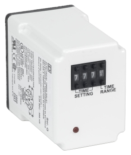 SQUARE D 9050JCK60V24 : TIMER RELAY 240VAC 10AMP +OPTIONS