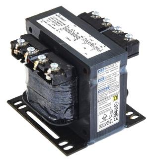 H SQUARE D 9070T100D1 Control Transformer,100VA,2.89 In