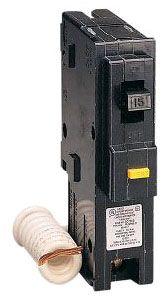 SQUARE D HOM115GFI : MINIATURE CIRCUIT BREAKER 120V 15A