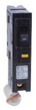 SQUARE D HOM120GFI : MINIATURE CIRCUIT BREAKER 120V 20A